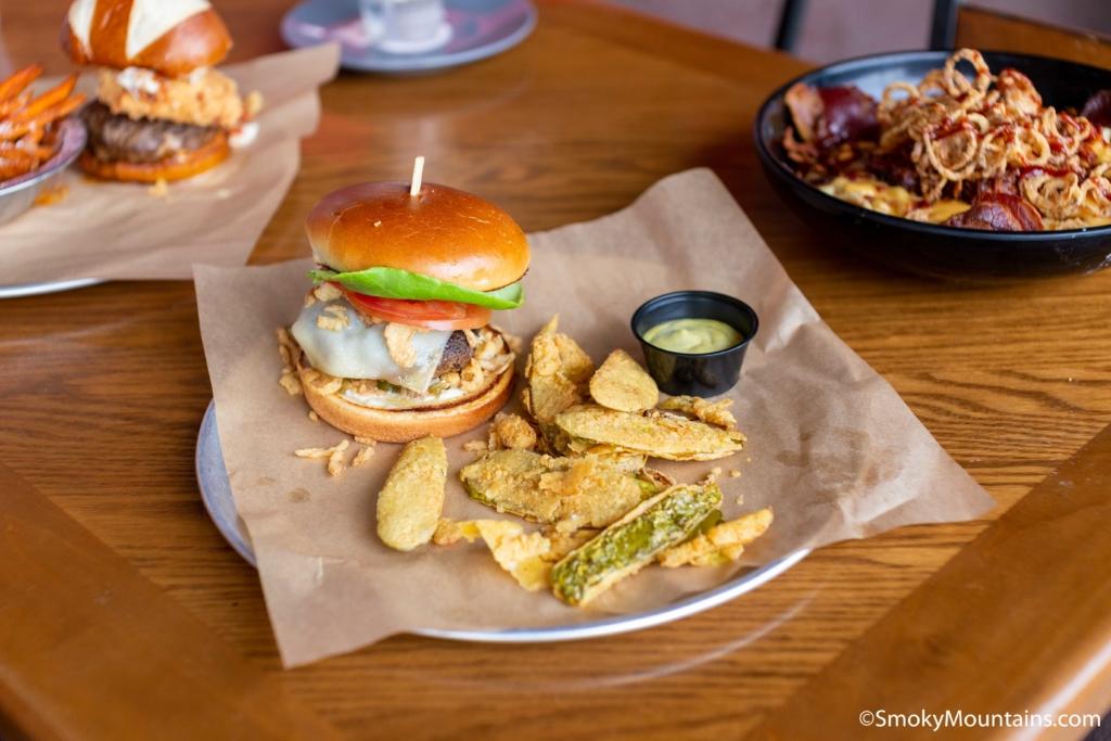 Sevierville Restaurants - MonsterMash Burgers - Original Photo
