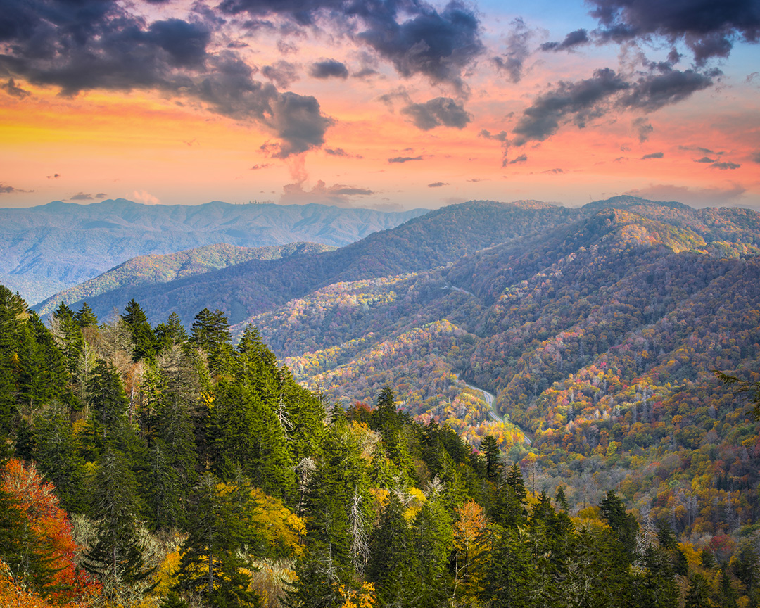 6 Desktop Backgrounds of the Smoky Mountains National Park