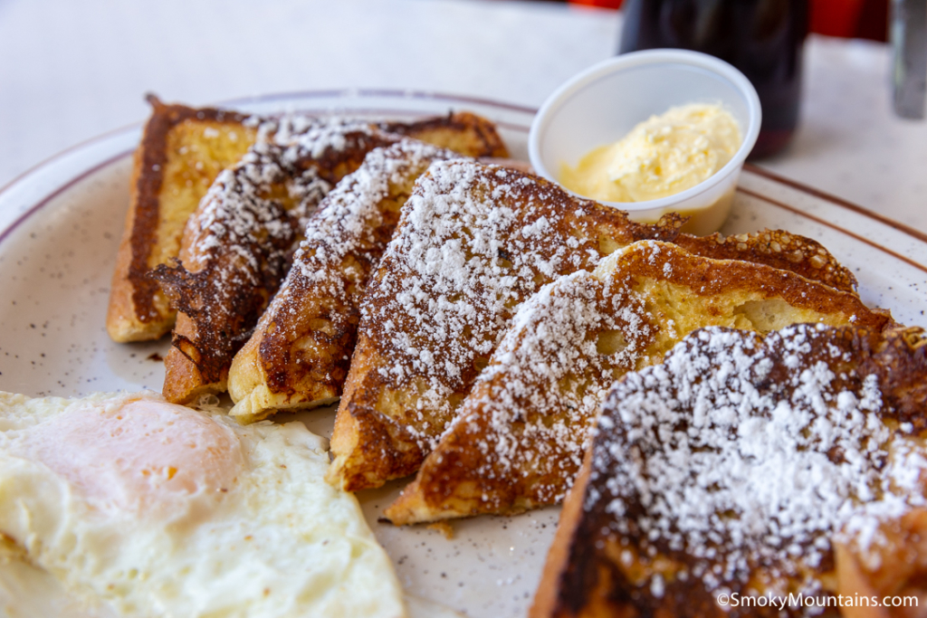 Gatlinburg Restaurants - Atrium Pancakes - Original Photo