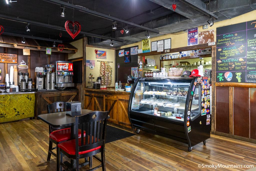 Gatlinburg Restaurants - Tennessee Jed's - Original Photo