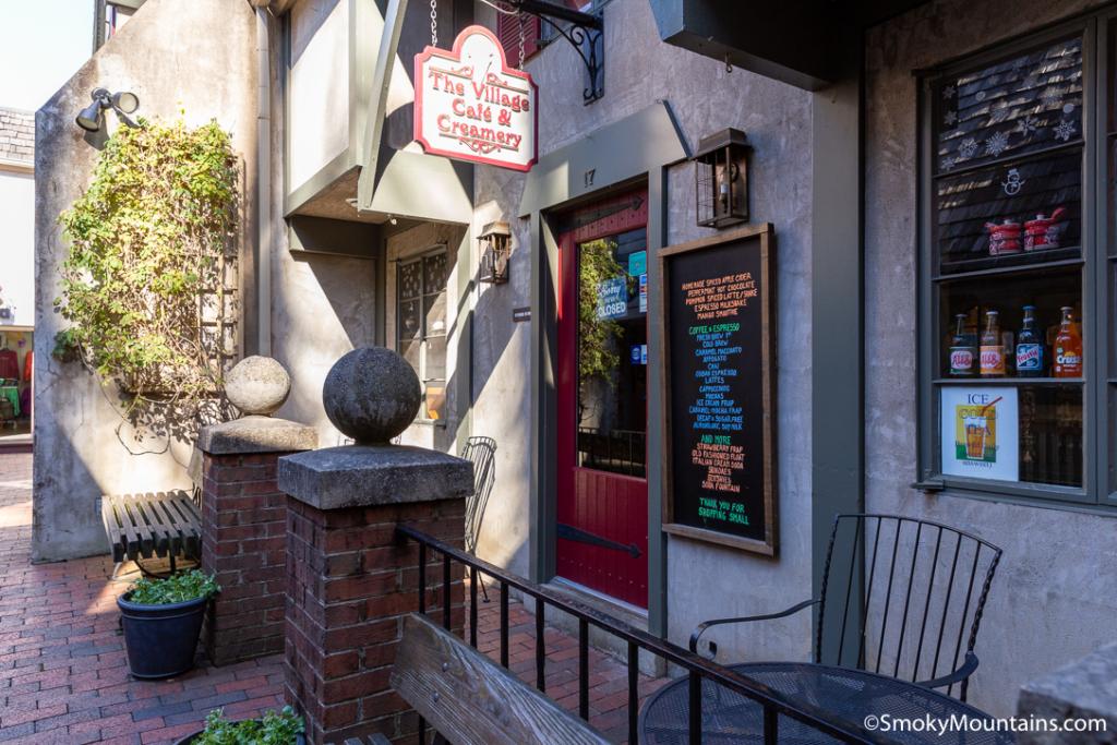 Gatlinburg Restaurants - The Village Cafe & Creamery - Original Photo