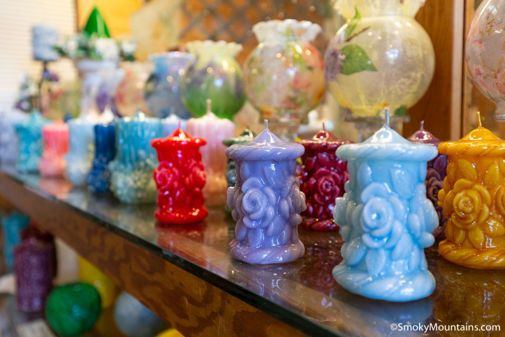 Gatlinburg Things To Do - Village Candles - Original Photo