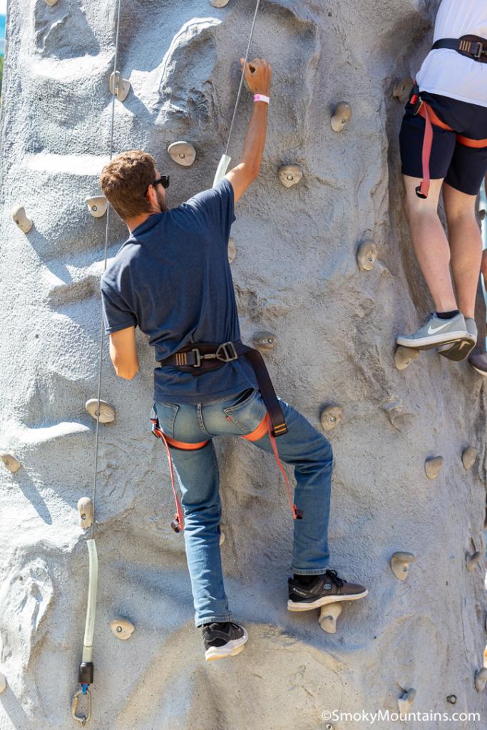 Things To Do Ober Gatlinburg - Rock Wall - Original Photo