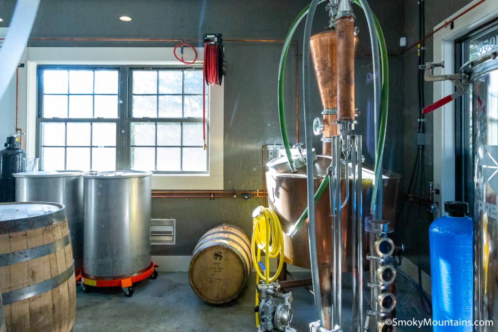 Sevierville Restaurants - King's Family Distillery - Original Photo