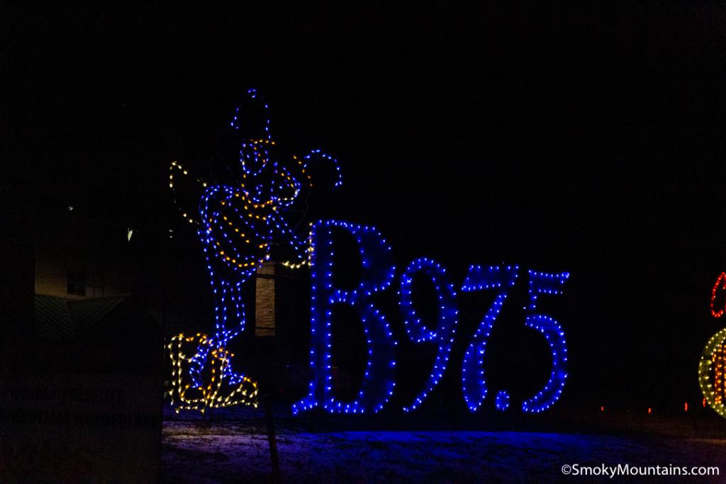 Sevierville Things To Do - Shadrack's Christmas Wonderland - Original Photo