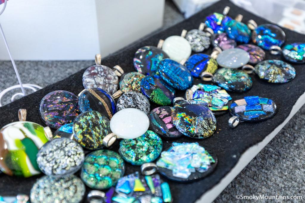 Gatlinburg Things To Do - Firefly Glass Studio - Original Photo