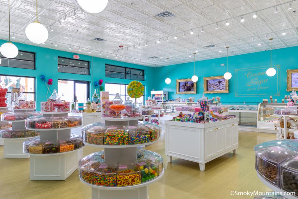 Pigeon Forge Restaurants - Cream & Sugar Sweet Shoppe - Original Photo