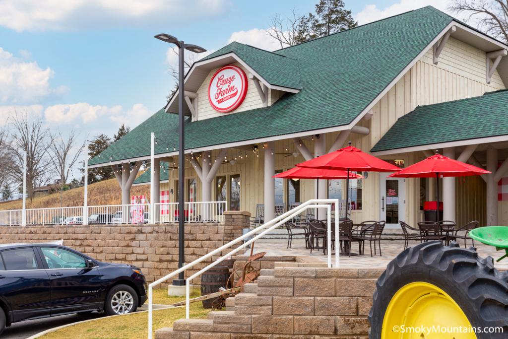Sevierville Restaurants - Cruze Farm Ice Cream - Original Photo