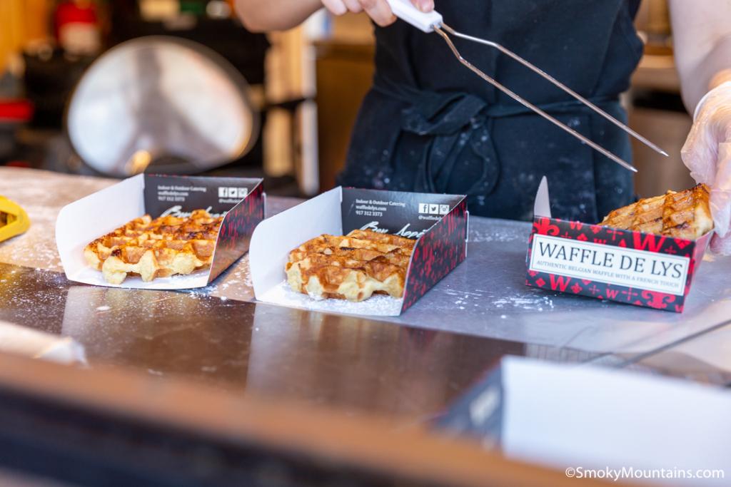 Gatlinburg Restaurants - Waffle De Lys - Original Photo