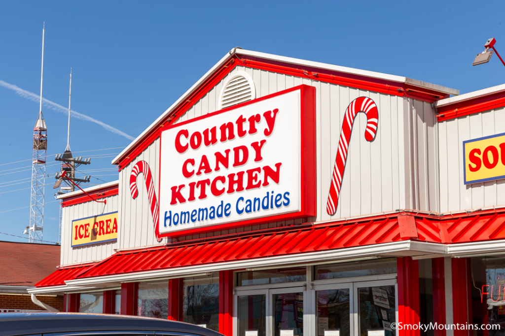 Pigeon Forge Restaurants - Country Candy Kitchen - Original Photo