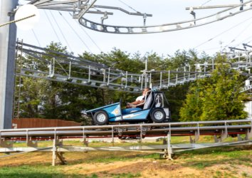 New Attraction Alert: Check Out the Power Coaster at Rowdy Bear Ridge