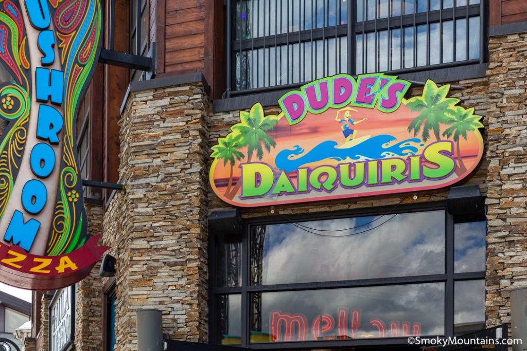 Gatlinburg Restaurants - Dude's Daiquiris - Original Photo