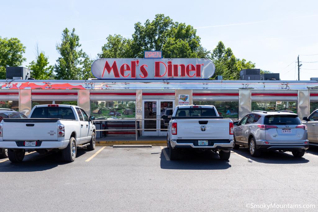 Pigeon Forge Restaurants - Mel's Classic Diner - Original Photo