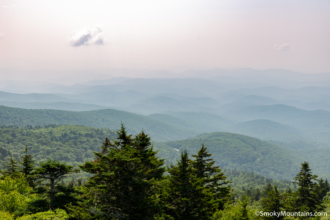 Nine Great Summits to Reach Close to Asheville