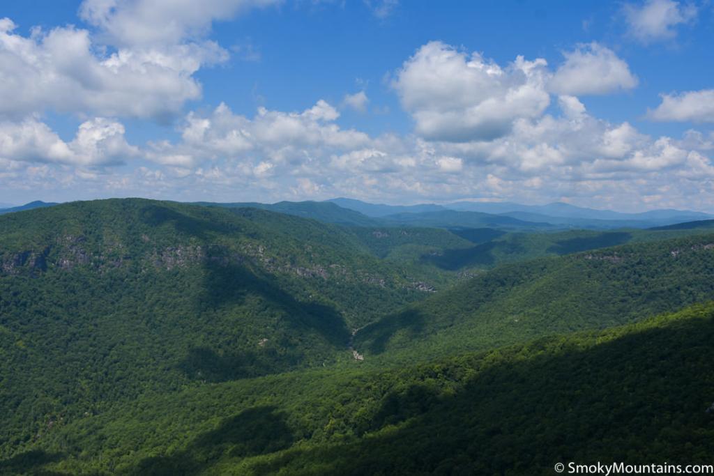 Asheville Hikes - Hawksbill Mountain - Original Photo