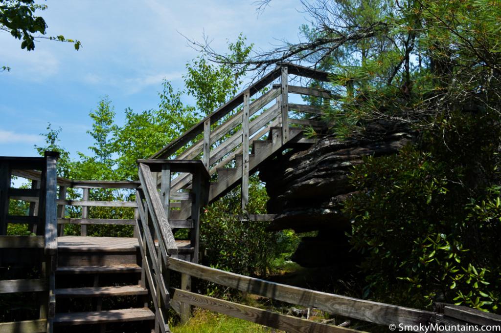 Asheville Hikes - Linville Falls Trail - Original Photo