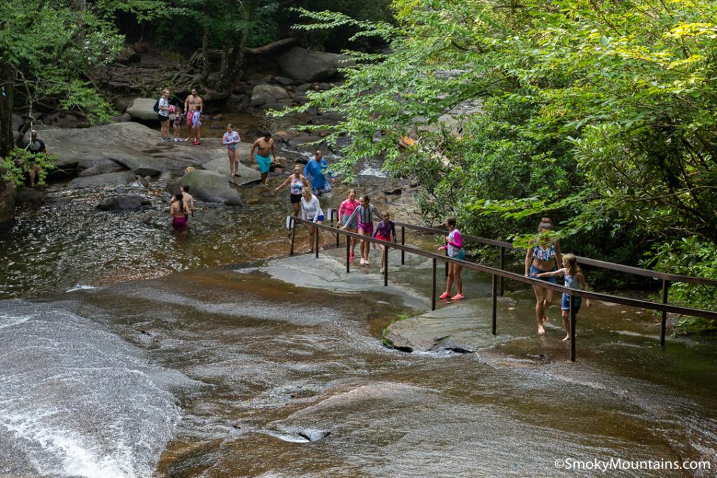 Asheville Parks - Sliding Rock at Pisgah National Forest - Original Photo