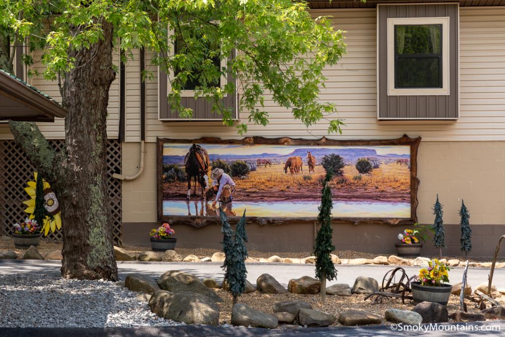 Pigeon Forge Things To Do - Big Rock Dude Ranch at Ponderosa - Original Photo