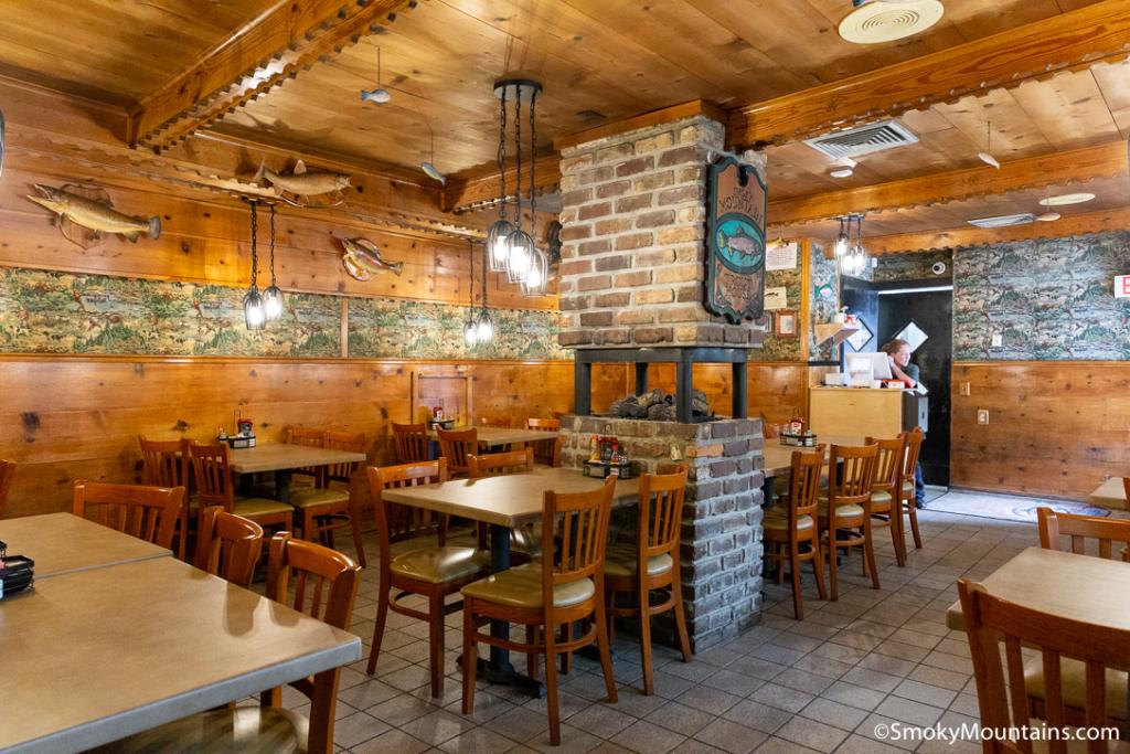 Gatlinburg Restaurants - Smoky Mountain Trout House - Original Photo