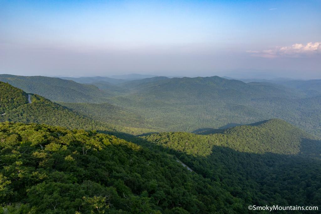 Asheville Hikes - Fryingpan Mountain Lookout Tower - Original Photo