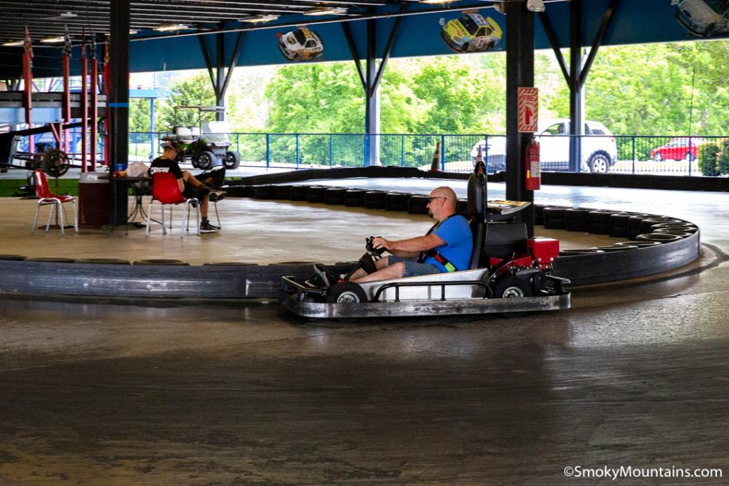 Pigeon Forge Things To Do - Blake Jones Racing Center - Original Photo