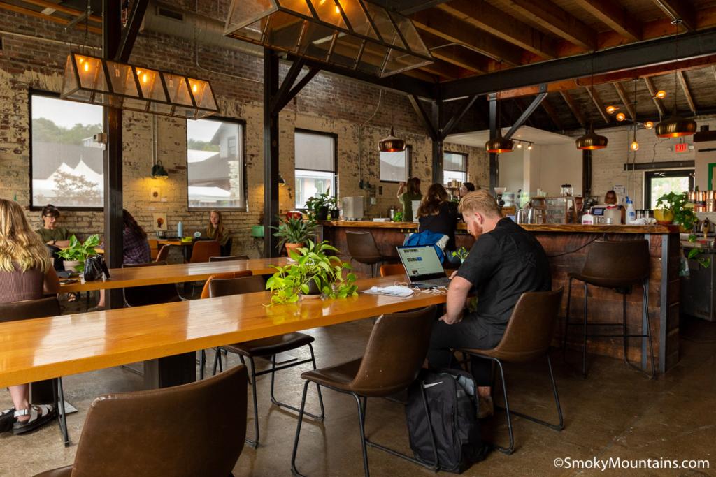 Asheville Restaurants - Summit Coffee Co. - Original Photo