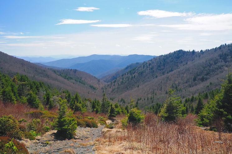 National Park Hikes - Charlies Bunion Hiking Trail - Original Photo