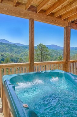 Pigeon Forge Properties with Private Hot Tubs