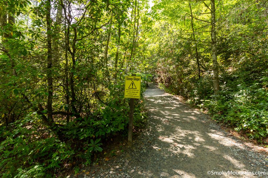 Asheville Hikes - High Falls Trail at Lake Glenville - Original Photo