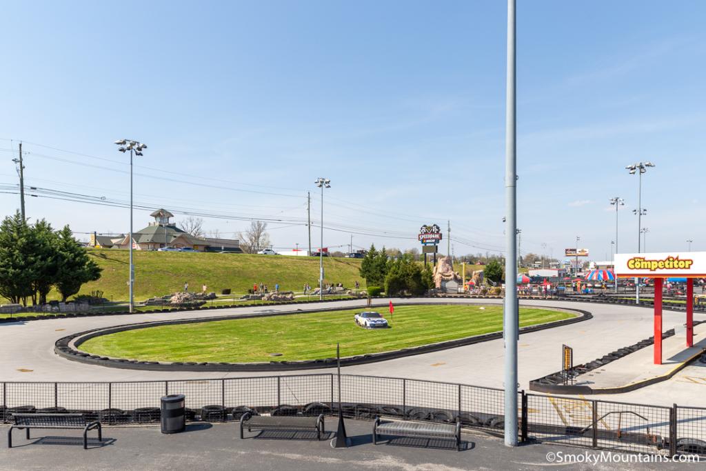 Sevierville Things To Do - Nascar Speedpark Smoky Mountains - Original Photo